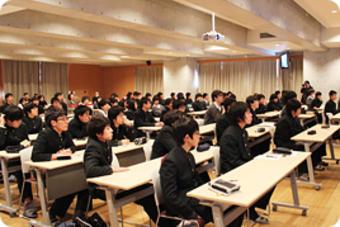 第3回SS公開講座で中貝豊岡市長に講演していただきました