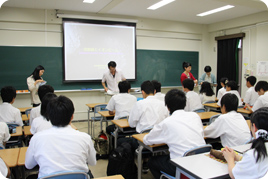 第2回SS出前講義(奈良女子大学)を受けました