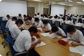 高校1年生学外サイエンス学習~神戸大学理学部