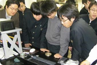 学外サイエンス学習『文化財の科学分析に関する講義・ 実習(奈良教育大学訪問)』を実施