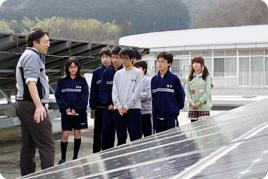 中学1年生を対象に「環境研修」を行いました