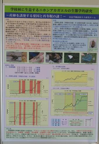日本動物学会で「優秀賞」を受賞