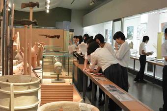 県立橿原考古学研究所で研修