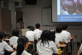 第3回SS出前講義「タマネギを中心とする食品の機能性」を開催