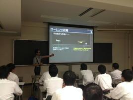 素粒子論研究室・粒子物理学研究室(神戸大)で研修(その2)