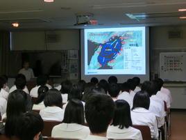 府立環境農林水産総合研究所 水産技術センターで研修