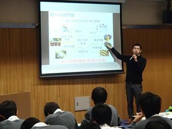 神戸大海事科学部で研修