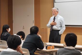 第2回SS公開講座-講師 河崎善一郎先生(大阪大学名誉教授)-を開催