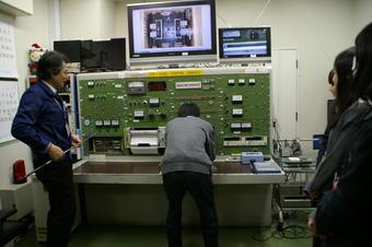 近大原子力研究所で研修