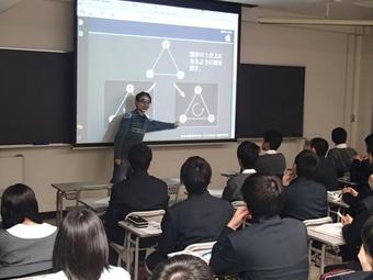 素粒子論研究室・粒子物理学研究室で研修(神戸大)
