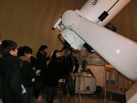 天体観測実習(大阪教育大)