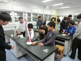 第2回奈良学塾「小学生対象 科学実験教室」を開催