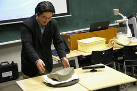 「文化財科学」の研修(奈良教育大)