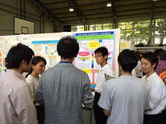 日本地質学会長野大会で発表