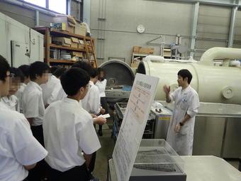 橿考研で「保存科学」の研修