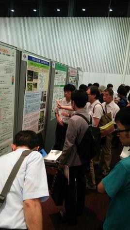 日本植物学会でポスター発表