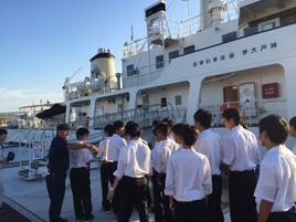 神戸大 海事科学部で研修