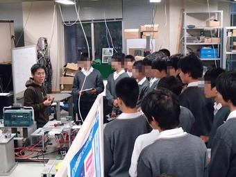 素粒子論研究室・粒子物理学研究室で研修(神大その3)
