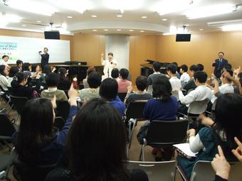 SS公開講座「The Science of Music」を開催