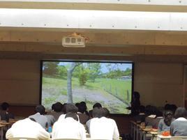 「絶滅危惧植物を育む里草地」SS出前講義