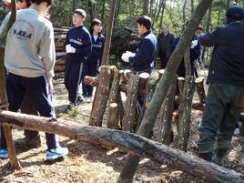 第2回環境研修を実施(中1)