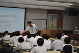 第3回SS出前講義「運動と学業成績との関連」を開催