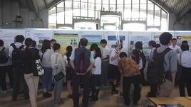 第80回 日本植物学会沖縄大会の高校生研究ポスター発表に参加しました。