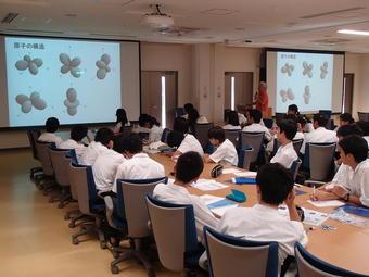 神戸大学理学部で校外サイエンス学習を実施