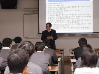 第5回SS出前講義「遺伝子・ゲノムをみる」を開催しました。