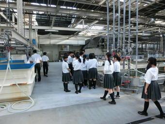 SS基礎「学外サイエンス学習」で大阪府立環境農林水産総合研究所 水産技術センターへ行きました