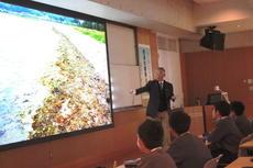 第1回SS公開講座「砂浜の環境と生物」を行いました