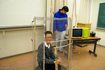 大阪教育大学で「SS基礎」学外サイエンス学習を行いました。