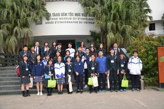 SSHベトナム海外サイエンス研修 1日目