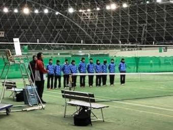 【中学テニス部】2年連続2回目の全国選抜大会出場