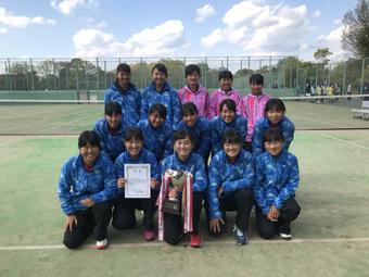 【中学テニス部】平成30年度奈良県中学生テニス選手権大会 結果報告