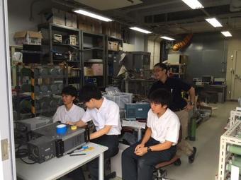SS国内研修「太陽光発電に関する研修」で、大阪大学工学研究科に行ってきました