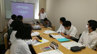 SS発展コース生徒がベトナム事前研修で大阪府立大学へ行きました