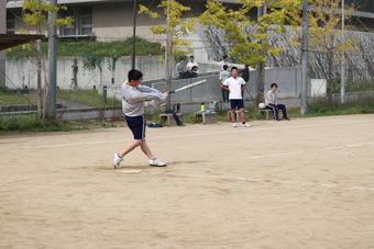高校球技大会を開催しました