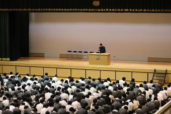 生徒大会が開催されました。