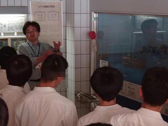 「学外サイエンス学習」で大阪府立環境農林水産総合研究所 水産技術センターへ行きました