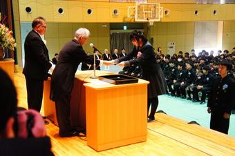 第38回卒業証書授与式を挙行