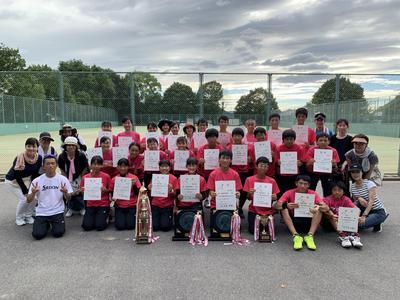 第70回奈良県中学校総合体育大会(中学テニス部)