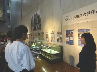 奈良県立橿原考古学研究所で学外サイエンス学習を行いました