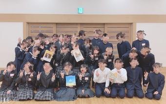 【図書委員会】他校の図書委員との交流会に参加しました