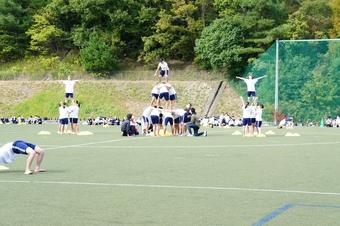 中学校体育祭を開催しました