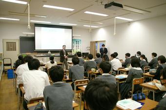 第1回SS出前講義を開催しました