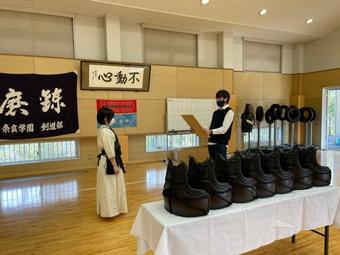 剣道女子団体が近畿高校選抜大会に出場します
