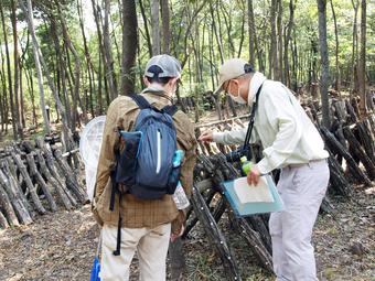 第一回奈良学塾「里山の森をそだてるクラブ-入門編-」を行いました