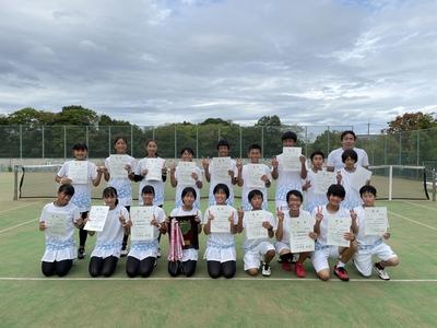 【中学テニス部】第72回奈良県新人テニス大会結果報告