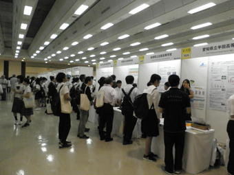 SSH生徒研究発表会にて